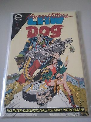 Heavy Hitters Law Dog Issue 1