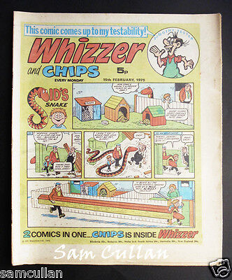 Whizzer and Chips 15th February 1975