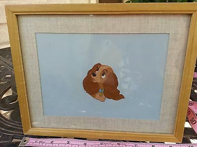 Lady and the Tramp original movie animation cel cell production sericel Disney