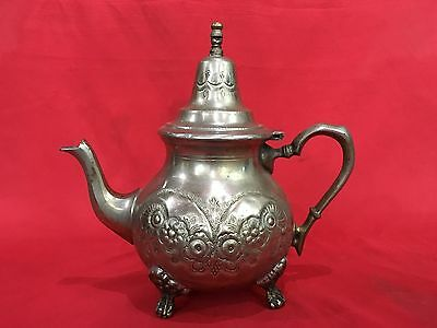 Original Old Islamic Arabic Ibrik Pitcher Jug Teapot Inscriptions In Arabic On