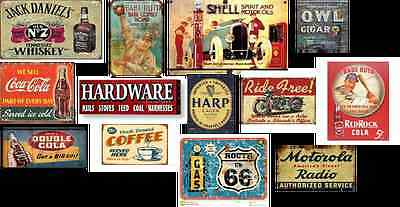 ho scale building decals/1A