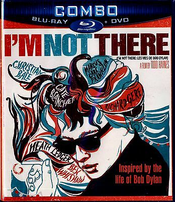 Brand New Blu-Ray/dvd Combo  // I'm Not There // Bob Dylan // Bio Pic //