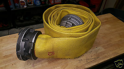 "1 Red Head 5"" - 125 1 canada end and 15 feet Fire Hydrant Hose"