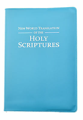 New Large 2013 Bible - NWT - TEAL Vinyl Cover - Jehovah's Witnesses - VC0985