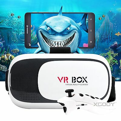 2017 New VR BOX 3D Glasses Virtual Reality Headset For Samsung Iphone Huawei
