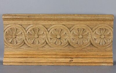 Antique European  Architectural Carved wood Pediment