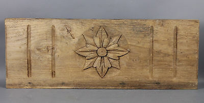 Antique Architectural Carved wood Pediment