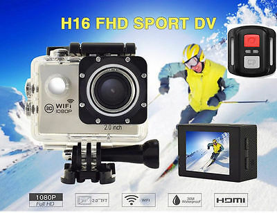 Ultra HD 1080P FHD DV Cam Waterproof Sports Action Camera Camcorder like Go Pro