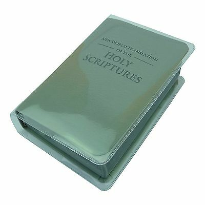 New POCKET 2013 Bible-Coloured Vinyl Cover-Jehovahs Witnesses - CLEAR - VC1380