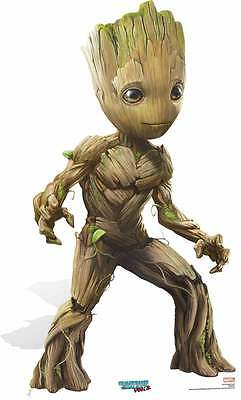 Baby Groot Guardians of The Galaxy Vol. 2 Cute Pose Cardboard Cutout / Standee