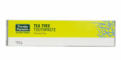 THURSDAY PLANTATION TEA TREE TOOTHPASTE - 110g FOR HEALTHY TEETH AND GUMS