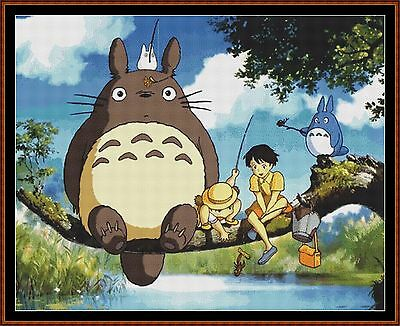 Cross Stitch Chart ( Pattern ) - TOTORO *CD Delivery*