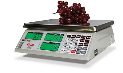 Rice Lake RS Series Price Computing Scales RS-130, 30 x 0.01 lb