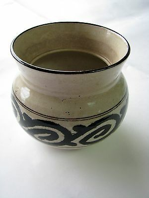 Antique Japanese TEA CEREMONY / HI'IRE (FIRE CONTAINER) / KIYOMIZU WARE / STAMP