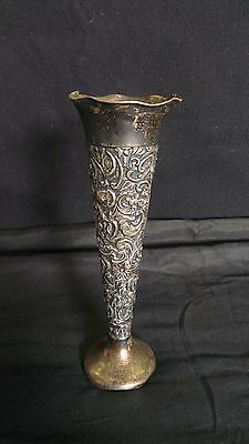 Rare Antique Sterling Silver vase