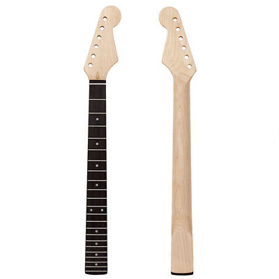 Electric Guitar Neck For ST Parts 22 Fret Fretboard Acurated Heel Maple