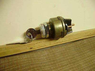 Cushman Truckster Haulster 4 Terminal Ignition Switch With Keys  #821181