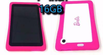 "Nabi 7"" Barbie Wi-Fi 16GB White / Pink Kids Tablet"