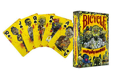 Zombie Playing Cards - NEW / SEALED - Everyday Zombies ~  Bicycle Brand