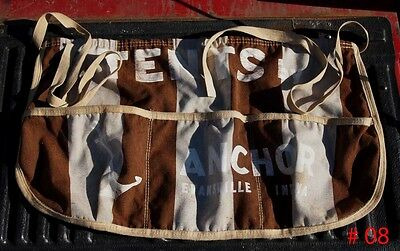 Vintage Carnival Game money Apron #8,  Billy O'Connor estate, Free USA Shipping
