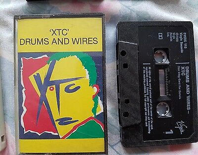 XTC - Drums And Wires Cassette Tape Album