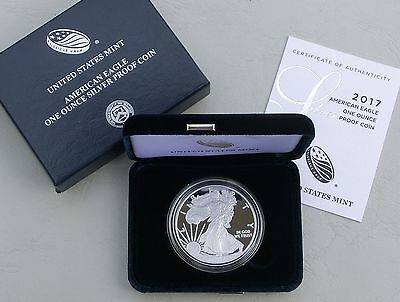 USA 1$ Silver Eagle 1 Unze oz Silber 2017 PP / proof