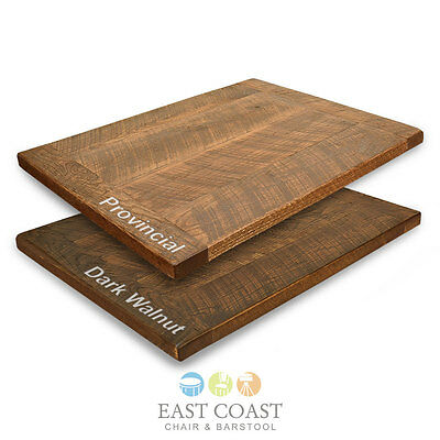 """New 36"""" Square Urban Distressed Wood Table Top in Provincial Finish"""