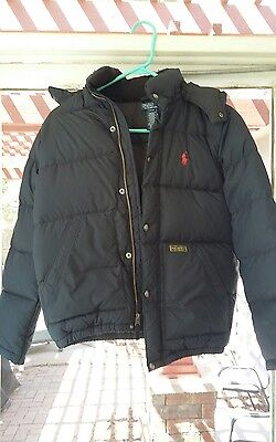 Raulph lauren polo jacket youth size M 10/12