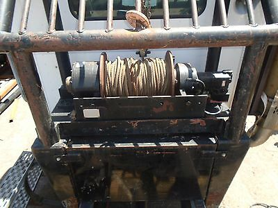 DP Manufacturing Winch Model 25BBX4R5F 25,000LBS - Great Condition