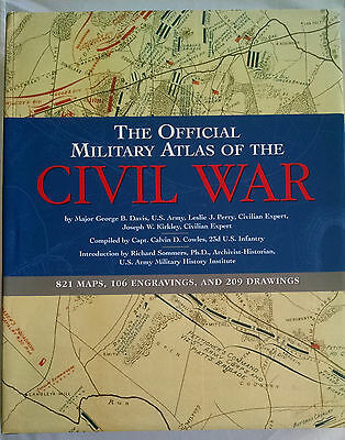 Official Military Atlas of the Civil War by George B. Davis