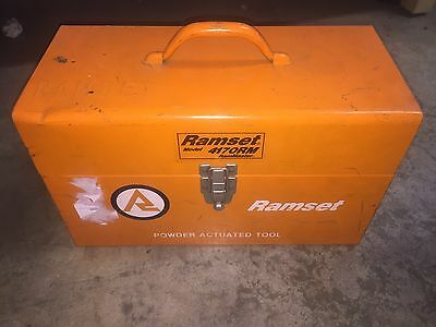 Ramset Model 4170RM w/Box + extras. RamMaster Ram Master Powder Actuated Tool