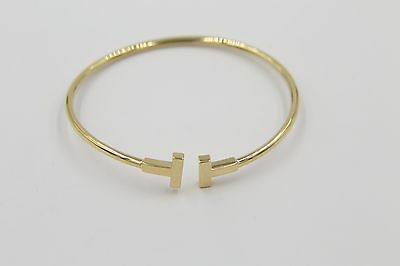 Authentic Tiffany and Co TT Bangle
