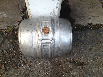 7.75 GALLON STAINLESS STEEL EMPTY Genesee Rochester NY BEER KEG 1/4 Barrel