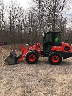 2015 Kubota R630 End Loader 405 Hours!!