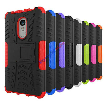 For Xiaomi Redmi Note 4/4X Shockproof Rugged Hybrid Armor Soft Case Stand Cover