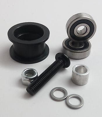 Delrin Smooth Idler Pulley Wheel Kit, CNC, 3D printers
