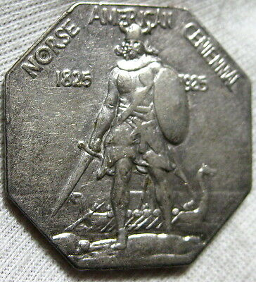 1925 Norse Medal Thick