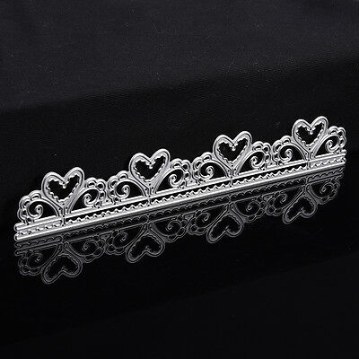 Heart Lace Cutting Dies Stencil Scrapbooking Album Paper Card Embossing Craft