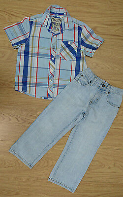 Next Boys Bundle Age 4-5 Years Shirts Jeans Trouser Outfit