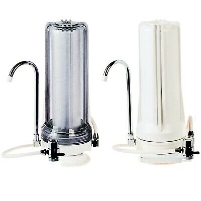Water Filter Bench Counter Top Activated Carbon Filters Sink Benchtop Countertop