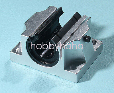 NEW 1pc Open TBR25UU 25mm Router Linear Motion Ball Bearing Slide Block For CNC