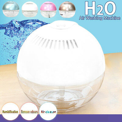 Electric Water Ionizer Air Purifier Room Office Dust Smell Remover Moistener AU