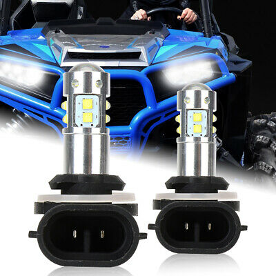 2 New Polaris 4011066 4030048 Super White 50w Xenon