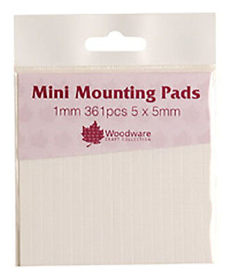 Woodware Mini Mounting Pads - 1mm
