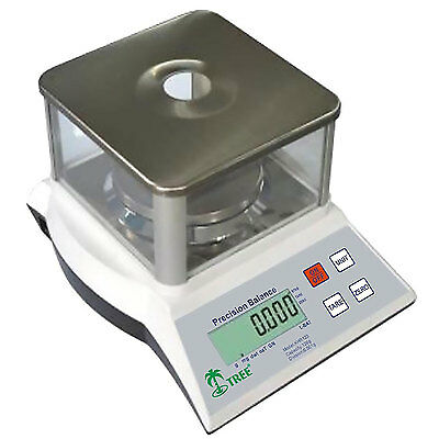 Tree KHR 120-3 Precision Balance 120g x 0.001g Scale with Mains Adaptor