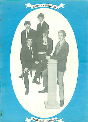 Johnny Kendall & The Heralds - 2 Pages Dutch 1964 Music Mag