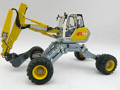 ROS 001800 Menzi Muck A91 4x4 Walking Excavator Multi Purpose Diecast Scale 1:50