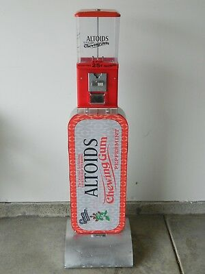 Altoid's Mints Coin Operated Vending Machine- Good Working Condition