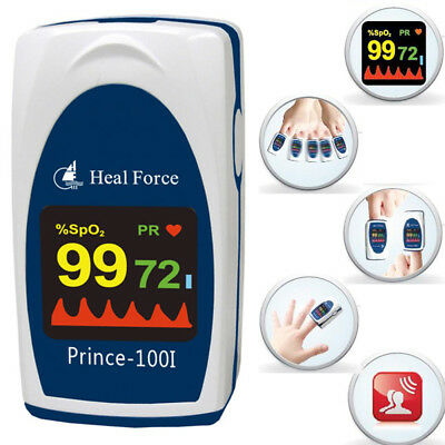 Blood Oxygen Saturation Monitor Paediatric Neonatal Infant Baby Patient Oxymeter