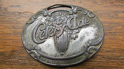 1908-09 CELERY ADE 5¢ FOB Greenfield TENNESSEE Soda Fountains & Bottle coca-cola